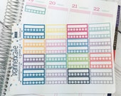 S239 ||  INDIVIDUAL HABIT Stickers for Weekly Spread of ECLP Vertical (32 Removable Matte Stickers)