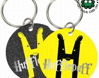 Hufflepuff Keychain