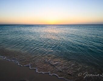 Aruba Sunset - Print, Canvas Gallery Wrapped Print