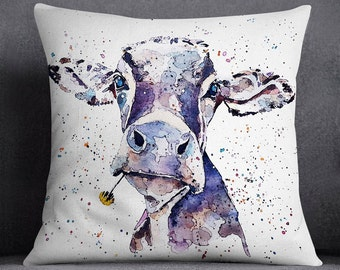 Dandelion Cow  -  Cushion