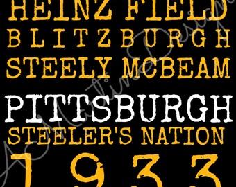 Pittsburgh Steelers Digital Download
