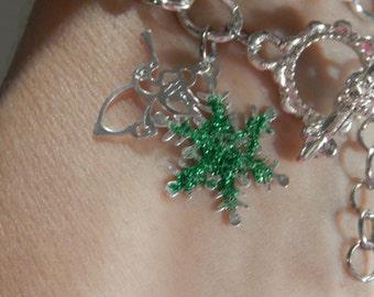 Jewel Tones Bell Bracelet