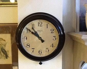 Smiths Bakelite wall clock