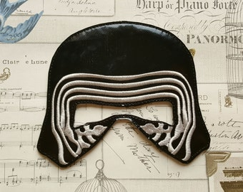 Star wars KYLO REN inspired mask ITH Project In the Hoop Embroidery Design Costume Cosplay, Fancy dress, Masquerade, Photo booth, Prop.