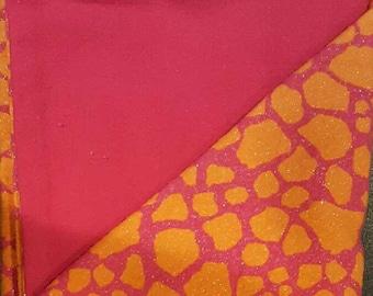 Giraffe Pattern Flannel Baby Blanket