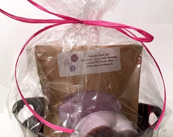 Lavender Gift Basket, Spa gift Basket, Small