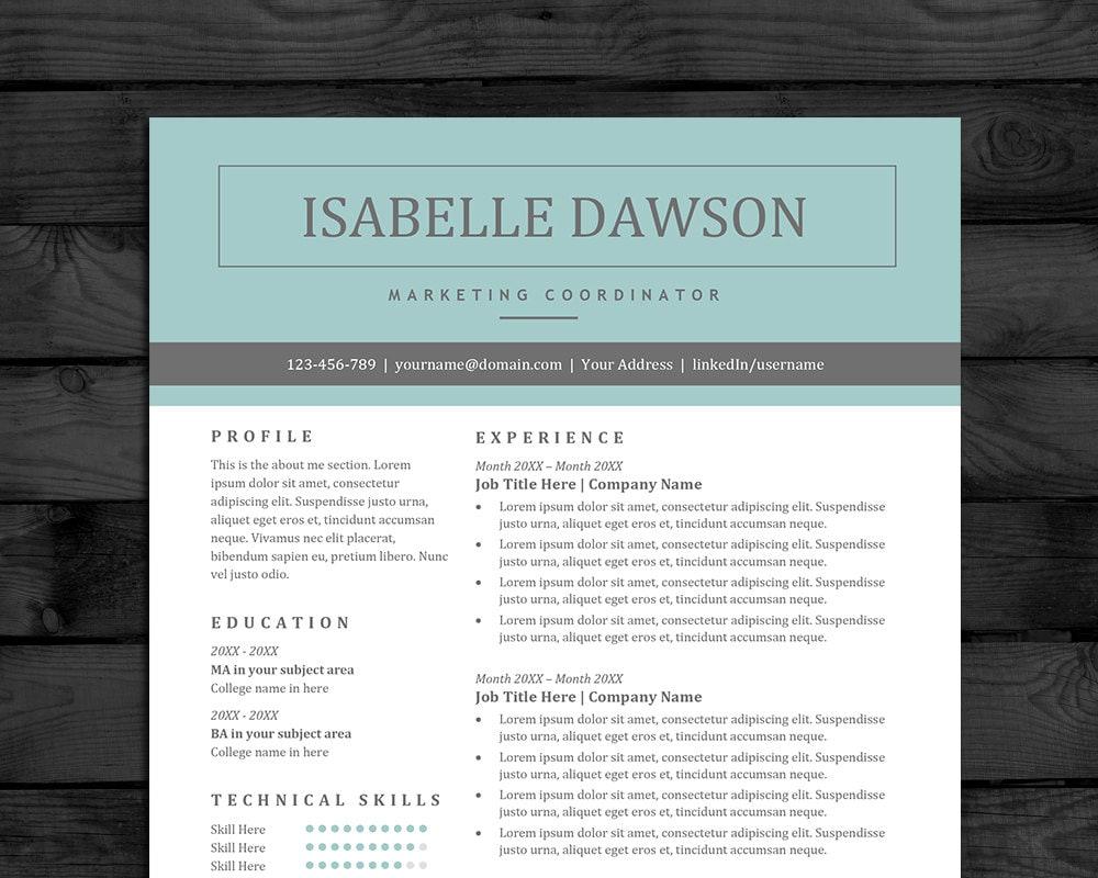 resume template pc  u0026 mac professional cv template free