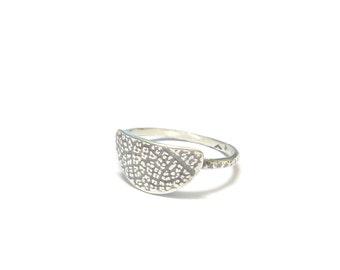 """Ethnic silver Massif """"Amazonas"""" ring"""