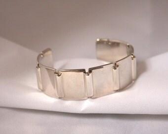 Links of London Silver Cuff Ladie's Bangle Bracelet