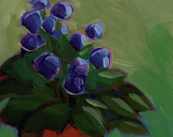 Print:055 - Violets Are Blue