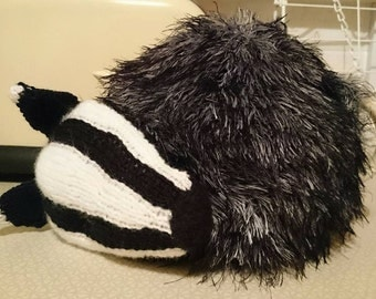 Sleeping Badger tea cosy