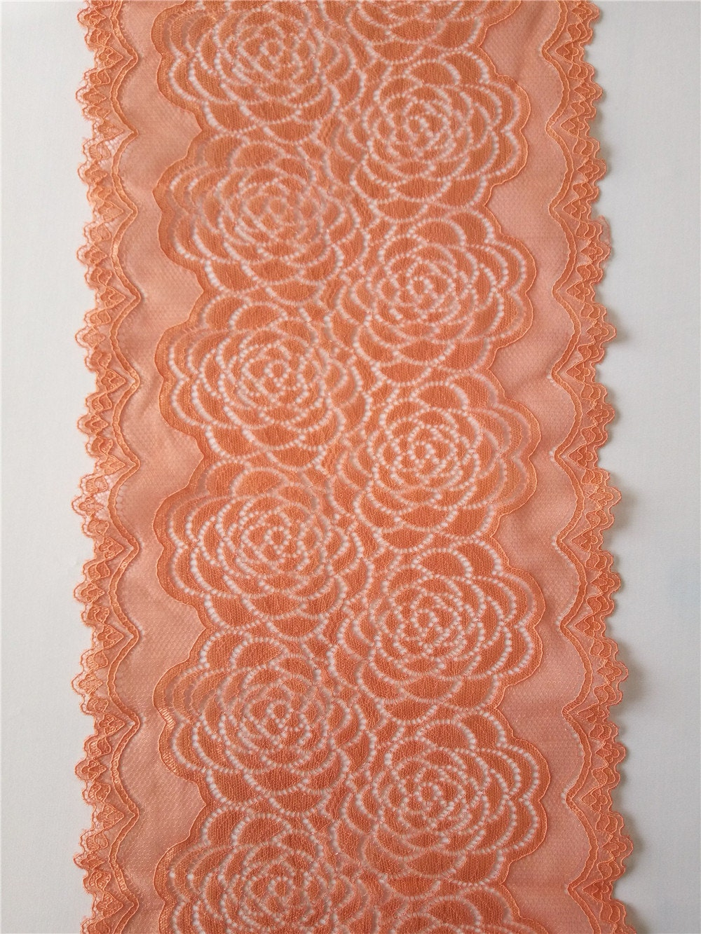 Table runners coral table runner 8 wide wedding for Table coral sample