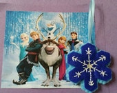Frozen inspired Snowflake party favor/ decoration