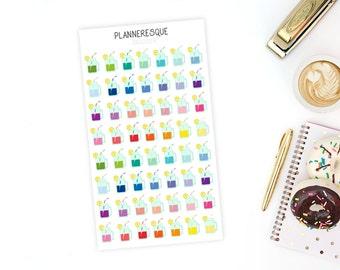 56 Tea Stickers - MI 0027