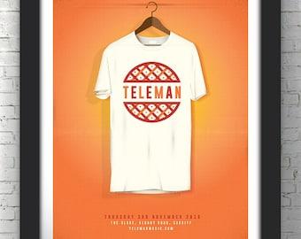 Teleman - A3 Gig Poster Print