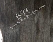 100% Virgin Hair Extensions/ Virgin Hair Bundles/  Three Bundle Deals -Natural Straight