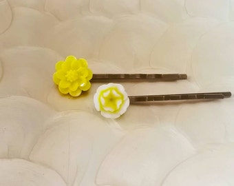2pc Sunshine Bobby Pins