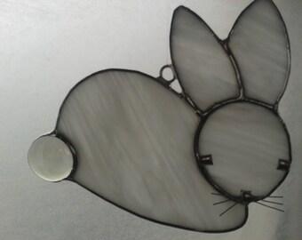 Glass Rabbit Sun-Catcher