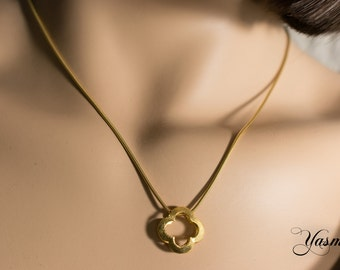 Flower of Sterling gold plated