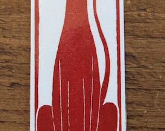 Hello Dog  - large bookmark