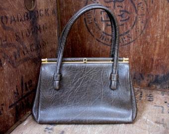 SALE! - Weymouth American - Vintage Purse - Vintage Handbag - Kelly Bag - 1960s Handbag - Sixties Clothing - Vintage Bag - Over Arm Bag