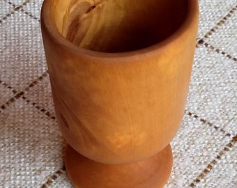 Apple wood goblet