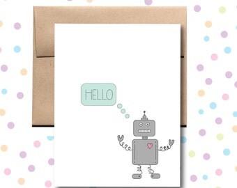 Hello Robot Card.