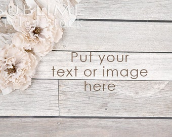 Styled Stock Photography / Wood Background / Styled Photography / Digital Background / Wood Background / Shabby / Burlap / StockStyle-734