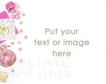 Styled Stock Photography / Birthday Party Styled / Party Photo / Digital Background / Birthday Background / Product Mockup / StockStyle-681