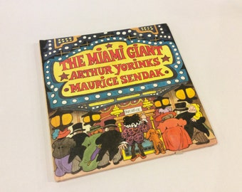 First Edition - Maurice Sendak - The Miami Giant - Illustrated Children's Book