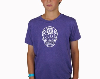 Reflective Bicycle Hipster Purple T-Shirt