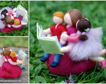 Once upon a time ... storybook wool, Waldorf inspired