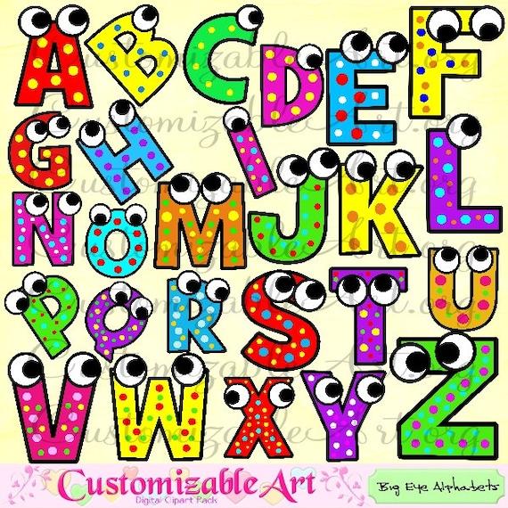 Abecedario gr fico digital alfabeto clip art im genes letras - Letras decorativas infantiles ...