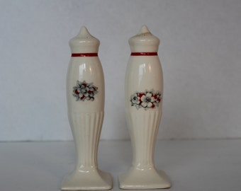 Vintage Salt and Pepper Shakers, Kitchen Collectible