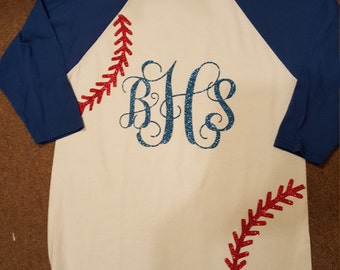 Monogramed Baseball Shirt