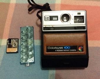 Kodak Colorburst 100- Vintage Instant Camera and Original bag
