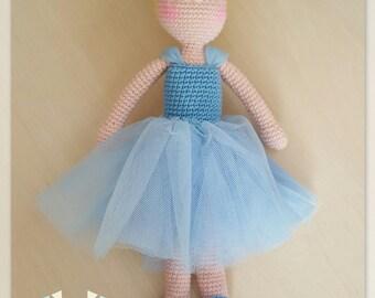 Cinderella amigurumi doll