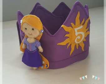 Crown birthday Rapunzel (tangled)