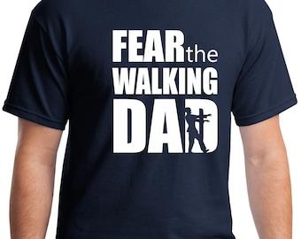 The walking dad shirt, Zombie shirt, zombie party, dad gift, dad shirt, husband gift, gift for husband, new dad shirt, new dad gift, zombie
