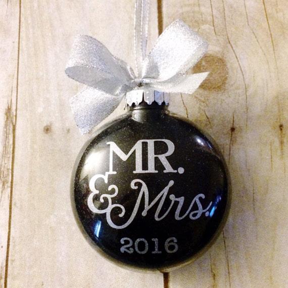 Personalized wedding ornament wedding christmas ornament for Custom engraved christmas ornaments