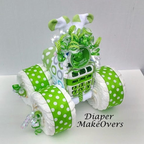 Creative Baby Gifts For Boy : Unique baby boy diaper cake shower gift or decoration