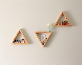 Contemporary Shelves modern shelves   etsy