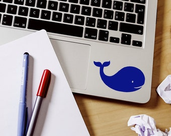 SUMMER SALE! Baby Whale sticker whale decal Car Laptop Vinyl Decal Sticker nursery whale