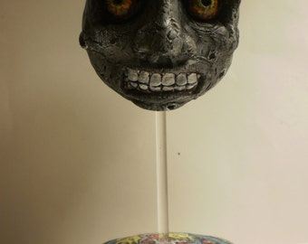 Clay Majora's Mask Moon w/ Stand