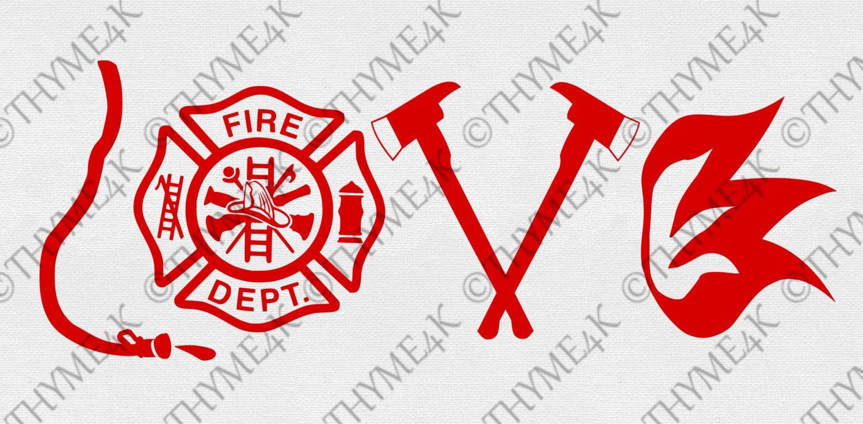 Download Digital Design LOVE Fire Department Instant