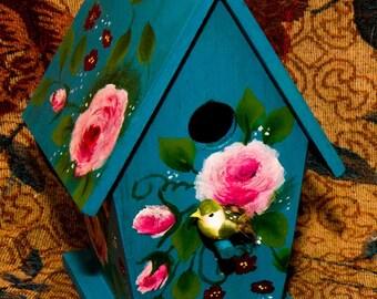 Handpainted Birdhouse5