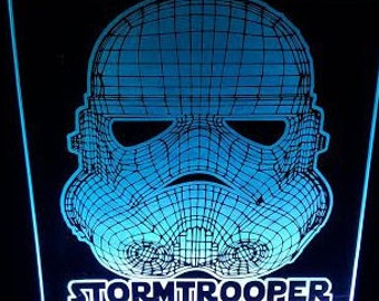 Stormtrooper Lite up Plaque