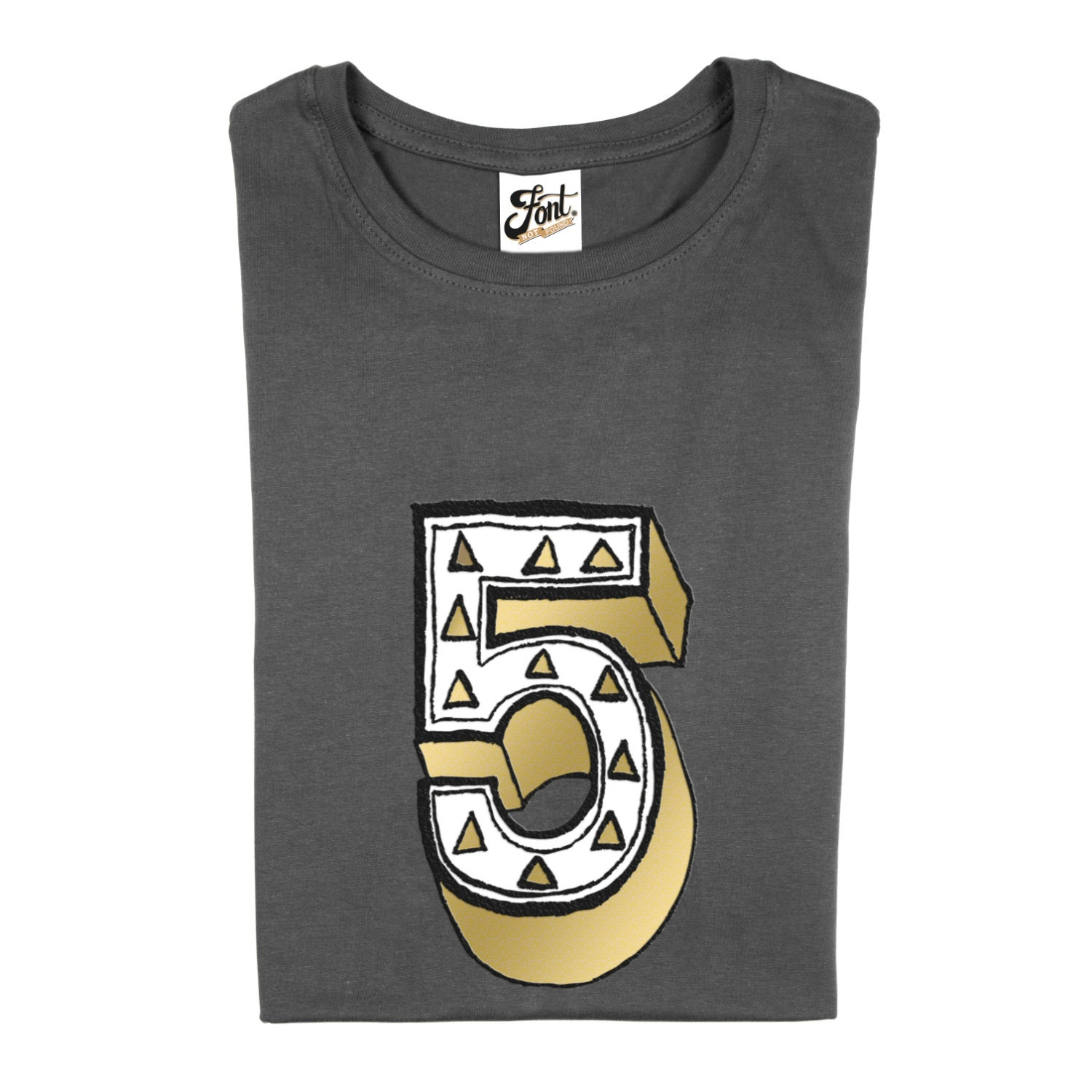Number Five T Shirt Kids 5 Tshirt 5th Birthday Outfit For Boy