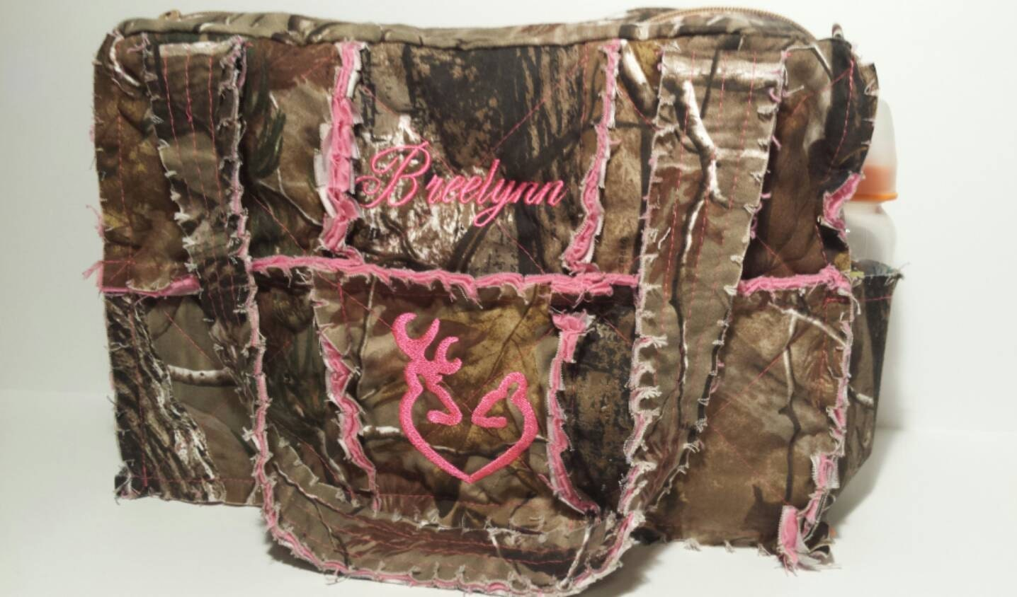 Camo diaper bag   Etsy
