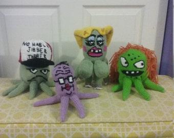 Hand Knit Squidbillies Cuyler Family